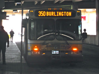 350 (North Burlington – Alewife Station via Burlington Mall)