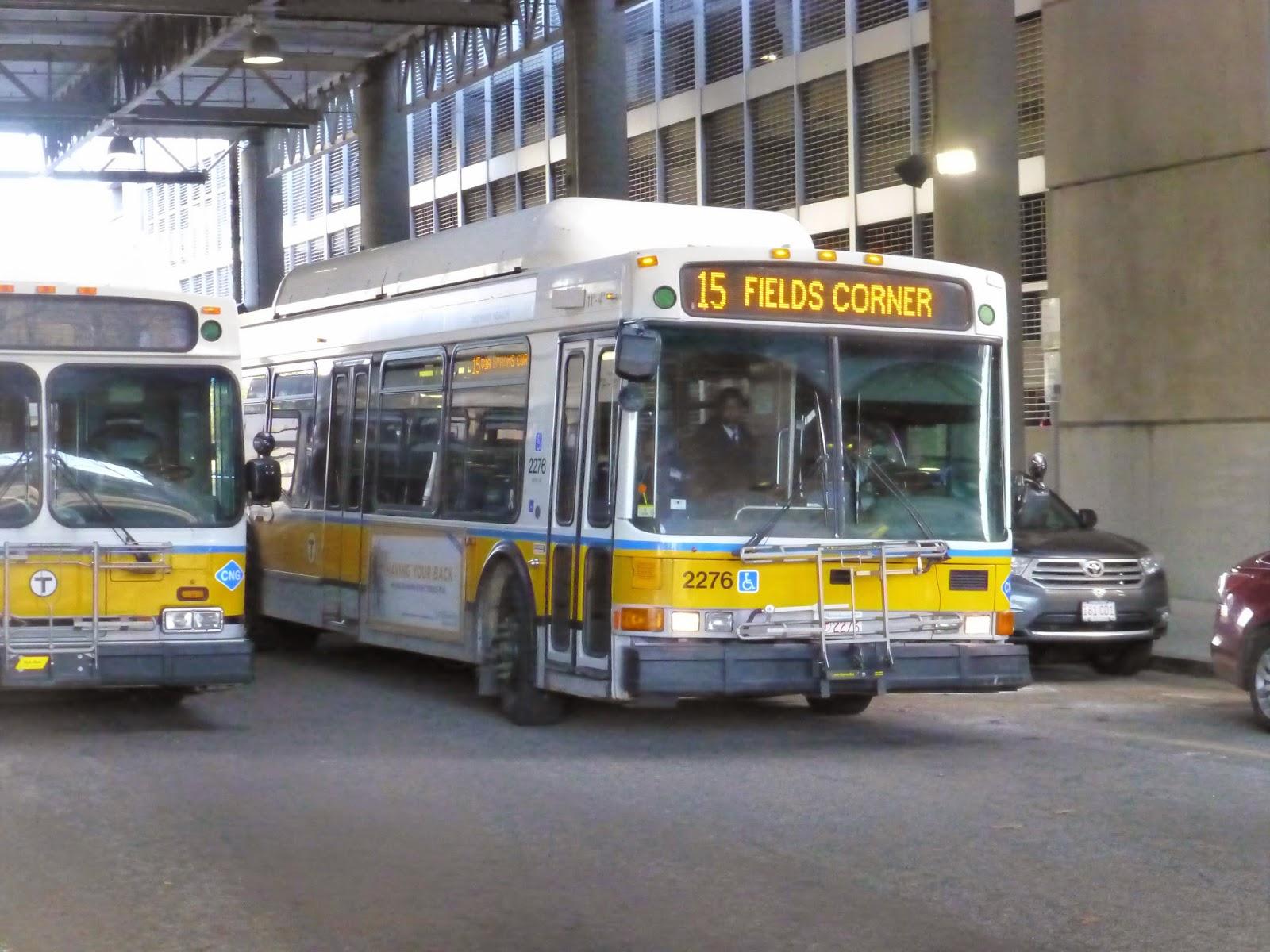 15 (Kane Square or Fields Corner Station – Ruggles Station via Uphams Corner)