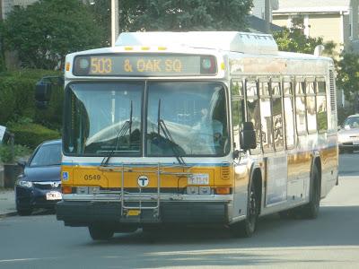 503 (EXPRESS BUS Brighton Center – Copley Square via Oak Square and Mass Turnpike)