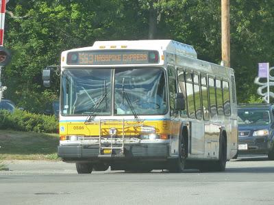 553 (Roberts – Downtown Boston via Newton Corner and Central Square, Waltham)