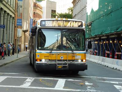 556 (Waltham Highlands – Downtown Boston via Newton Corner, Central Square, Waltham, and Newtonville)