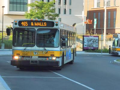 465 (Salem Depot – Liberty Tree Mall via Peabody and Danvers)