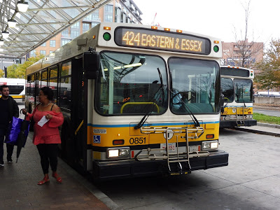 424 (Eastern Ave and Essex Street – Wonderland Station via Highland Ave)