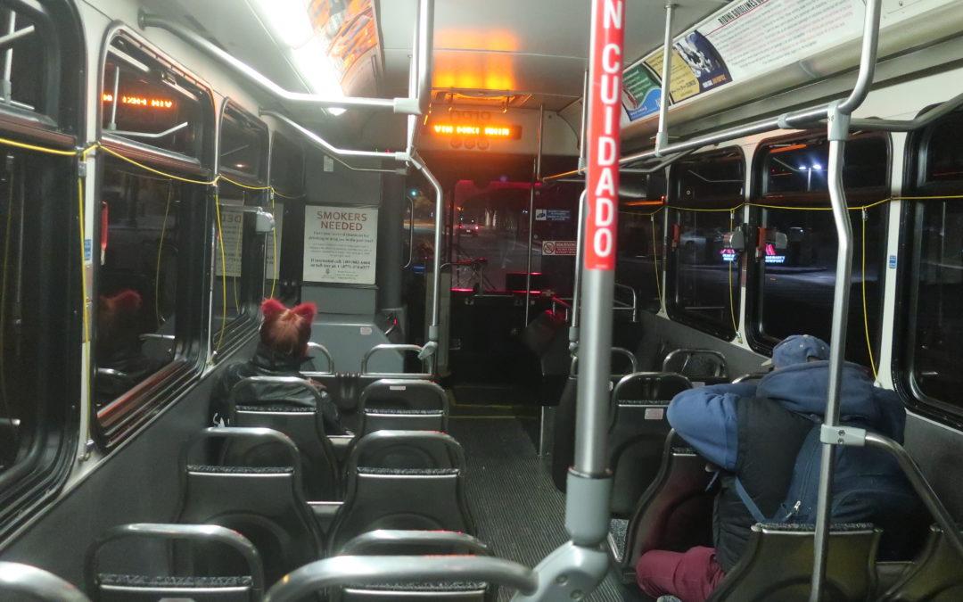 Riding the Last* RIPTA Bus of the Night