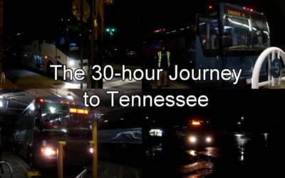 VIDEO: I Took Three Greyhounds and an OurBus to Nashville