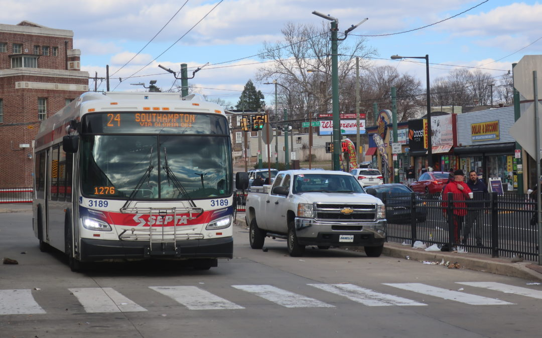 24 (Southampton and Rockledge to Frankford Transportation Center)