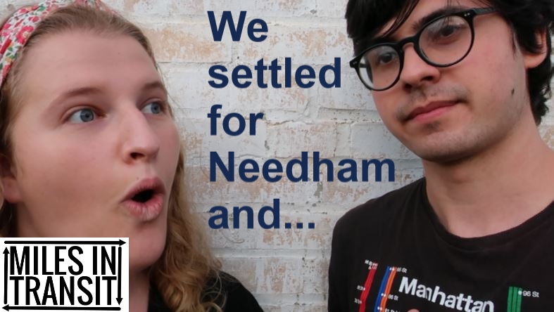 Reviewing Every Train Station in Needham (madness)