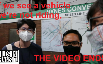 If We See an MBTA Vehicle We're Not Riding, the Video Ends