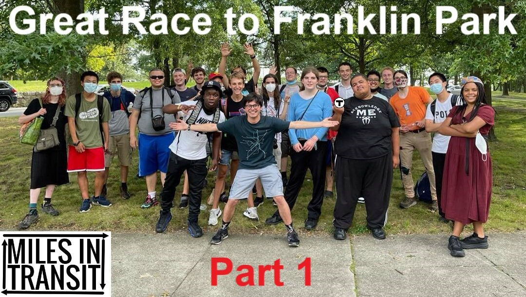 Great Race to Franklin Park – Part 1