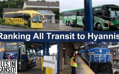 Riding and Ranking EVERY Transit Mode from Boston to Hyannis