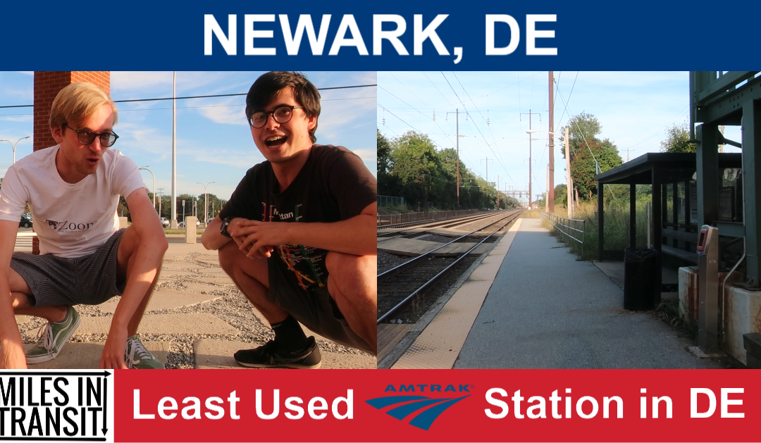 Newark – Least Used Amtrak Station in Delaware